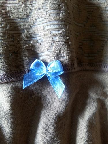 petit noeud bleu